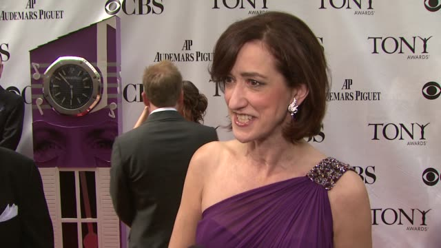 Haydn Gwynne on how overwhelming the carpet is at the Tonys who she is looking forward to seeing at the event and what makes Billy Elliot resonate so...