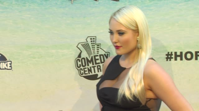 hayley amber hasselhoff at the the comedy central roast of david hasselhoff at culver city ca. - david hasselhoff stock videos & royalty-free footage
