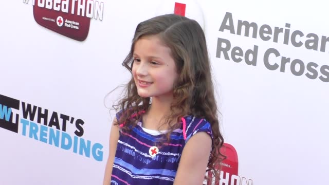 hayley bratayley at the what's trending's fourth annual tubeathon benefitting american red cross at iheartradio theatre in burbank at celebrity... - fourth occurrence stock videos & royalty-free footage