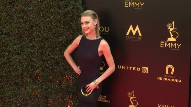 Hayley Erin at the 2018 Daytime Emmy Awards at Pasadena Civic Auditorium on April 29 2018 in Pasadena California