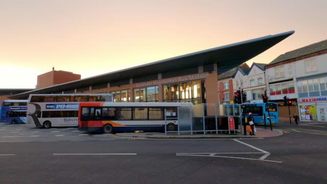 haymarket bus station - station stock videos & royalty-free footage