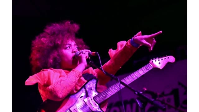 Haynes of Seratones performs onstage at New West Records during the 2019 SXSW Conference and Festivals at Mowhawk on March 15 2019 in Austin Texas