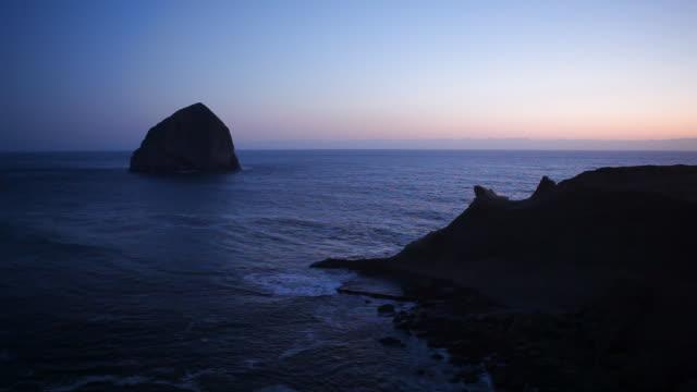 HD haystack rock from Oregon Coast