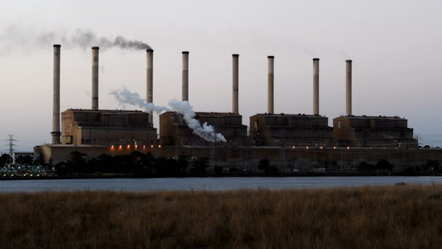 hazelwood power station - coal fired power station stock videos and b-roll footage