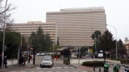 Hd video of facade of the defense general hospital