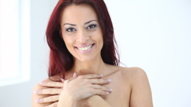 hd1080:smiling red hair woman - 30 34 years stock videos and b-roll footage