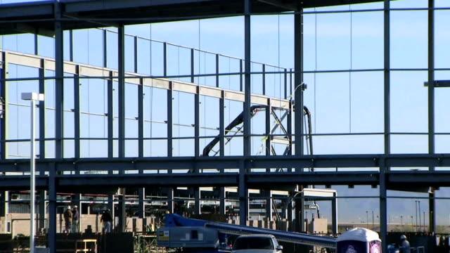HD - 1080-local de construção de Aço