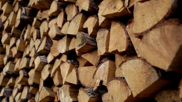 hd_stored wood - firewood stock videos & royalty-free footage