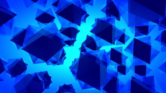 HD-abstrakt Blau-Technologie Hintergrund