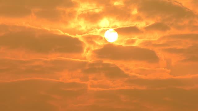 HD :美しい夕日