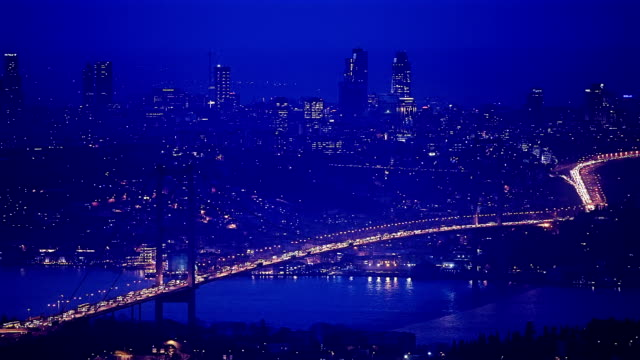 hd:bosphorus bridge. - july 15 martyrs' bridge stock videos & royalty-free footage