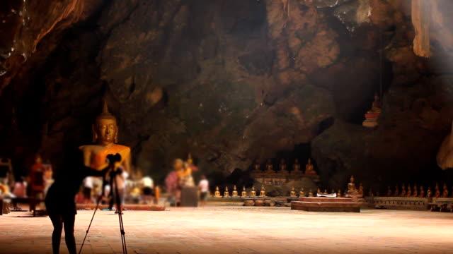 HD: Buddha in Khao-Luang-Höhle Phetchaburi Provinz Thailand