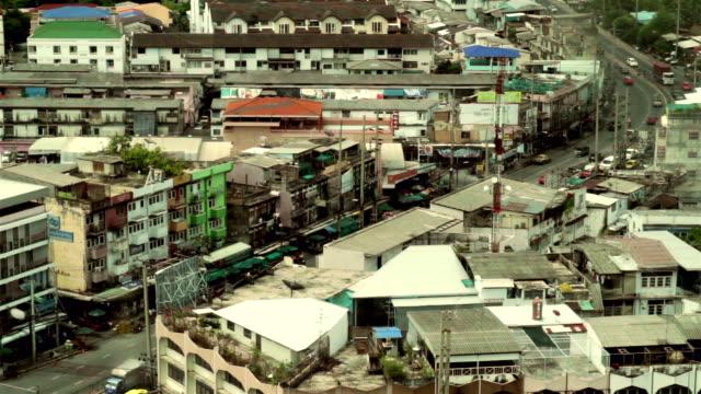 vidéos et rushes de hd.city bangkok - vertige