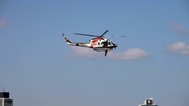 hd:coast guard helicopter - helicopter stock videos & royalty-free footage