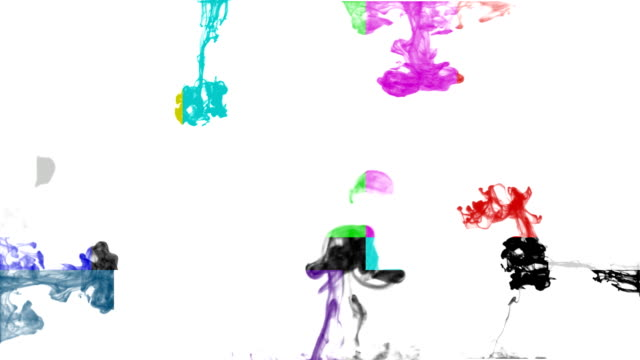 HD:Colourtest Tuning Ink Drop