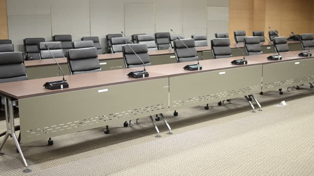 hd:conference room business meeting room - dolly shot stock videos & royalty-free footage