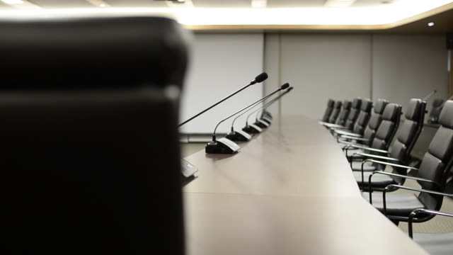 hd:conference room modern interior design - ceiling stock videos & royalty-free footage