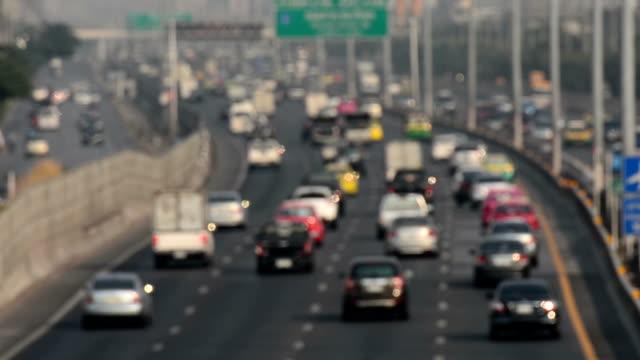 HD:Defocused Highway traffic