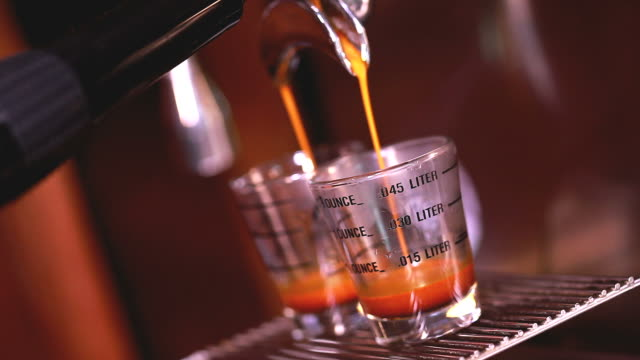 HD:Espresso Coffee making.
