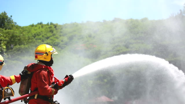 hd:firefighter. - firefighter stock videos and b-roll footage