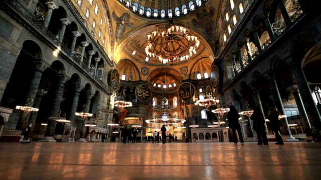 hd:hagia sophia, istanbul, turkey - museum stock videos & royalty-free footage