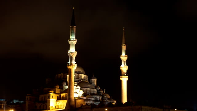 hd:istanbul new mosque **time lapse** - mosque stock videos & royalty-free footage