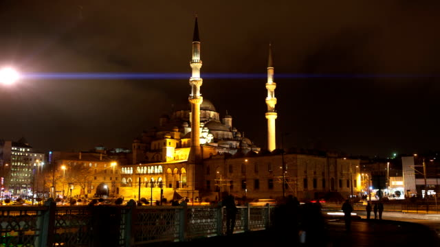 hd:istanbul new mosque **time lapse** - yeni cami mosque stock videos & royalty-free footage
