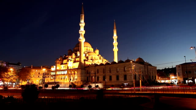 hd:istanbul new mosque - yeni cami mosque stock videos & royalty-free footage