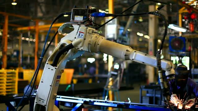 HD:Joint of robotic welding.