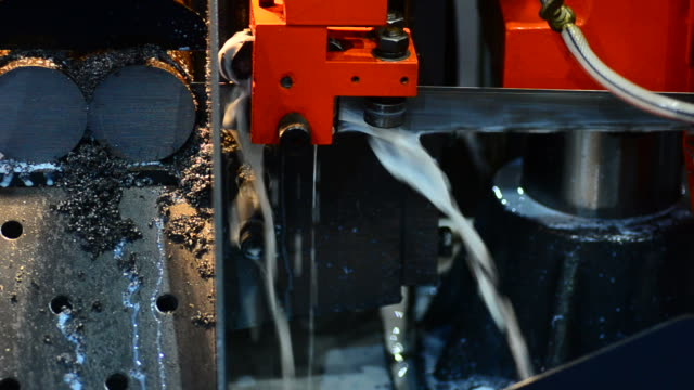 hd:metal industry cutting machine - metal industry stock videos and b-roll footage