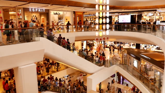 hd:shopping people - shopping centre stock videos & royalty-free footage