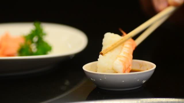 HD:Sushi bar Japanese Food at Japanese restaurant
