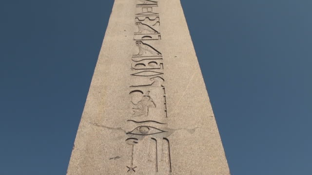 stockvideo's en b-roll-footage met hd:the obelisk of theodosius  istanbul, turkey - obelisk
