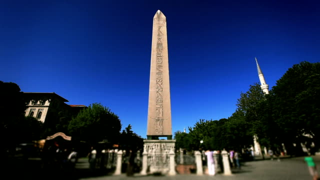 HD:The Obelisk of Theodosius  Istanbul, TURKEY