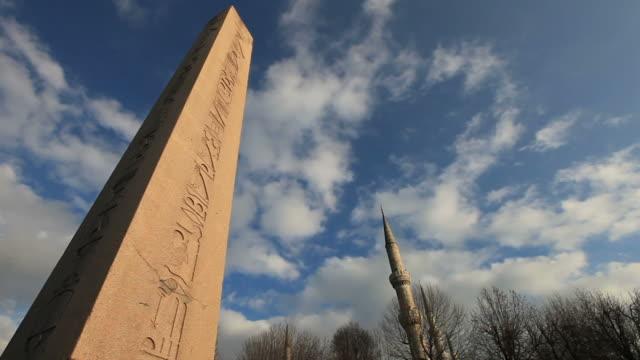 HD:The Obelisk of Theodosius  **Time Lapse**  Istanbul, TURKEY