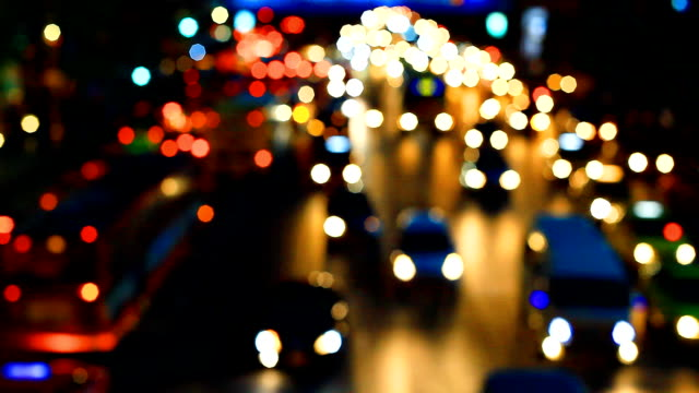 HD:Traffic in the city(defocus).