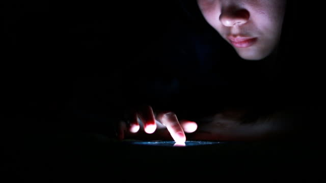 HD: mit Smartphone in the dark