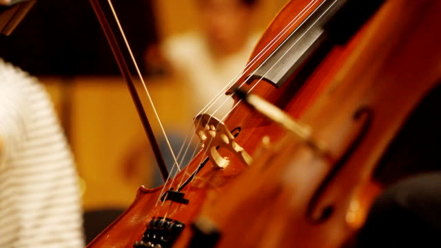 vídeos de stock, filmes e b-roll de hd: violino violoncelo jogadores. - arte, cultura e espetáculo
