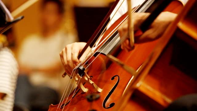 vidéos et rushes de hd :  violon violoncelle joueurs. - violoncelle