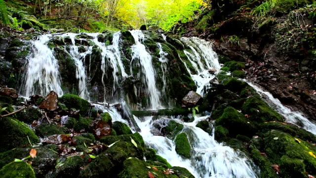 HD:Waterfall,Seven Lakes (Yedigoller) , TURKEY