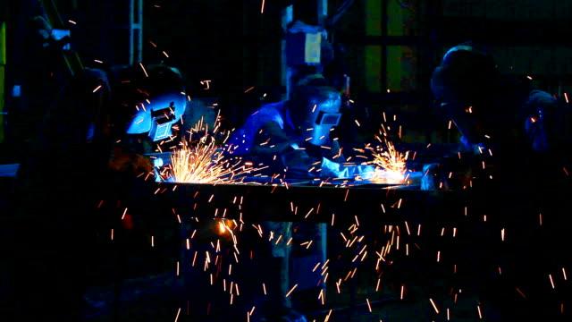 hd:welding work. - welding stock videos and b-roll footage