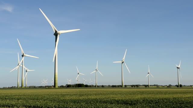 hd,wind park, echtzeit - deutschland stock videos & royalty-free footage