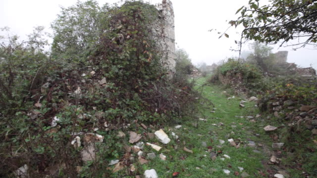 Тhe abandoned village of Dyadovtsi, Rhodope Mountains, Bulgaria