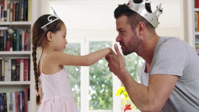 he adores dancing with her - daughter stock videos & royalty-free footage