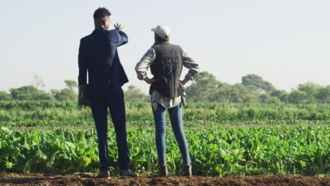 vídeos y material grabado en eventos de stock de tiene intereses en invertir en su granja - asociación