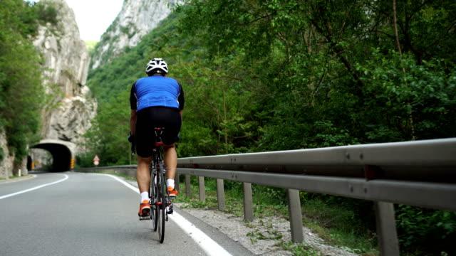 he is in great shape - biker stock videos & royalty-free footage