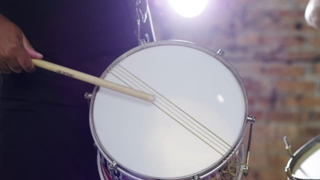 he keeps the beat going throughout the night - drummer stock videos & royalty-free footage
