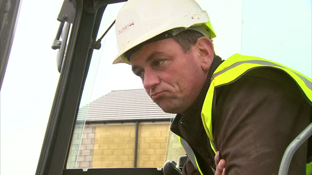 he may not have been wearing the hard hat that he's come to favour but building was certainly the theme of george osborne's speech to the... - jason george stock videos and b-roll footage