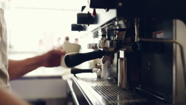 he serves only the freshest coffee - cafe stock videos & royalty-free footage