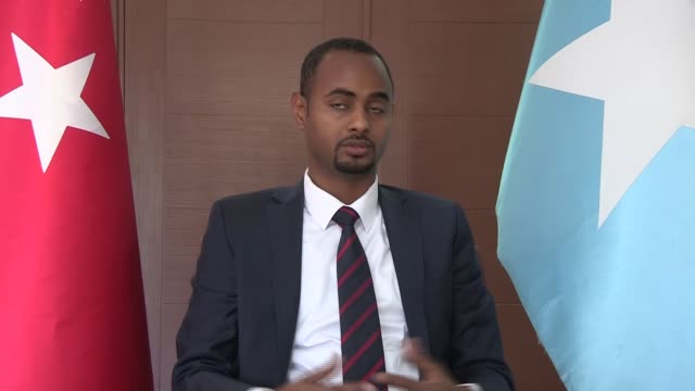 "he ""turkish model"" of delivering humanitarian aid should be emulated by other donor states the somalian envoy to ankara tells journalist in ankara... - horn of africa stock videos & royalty-free footage"